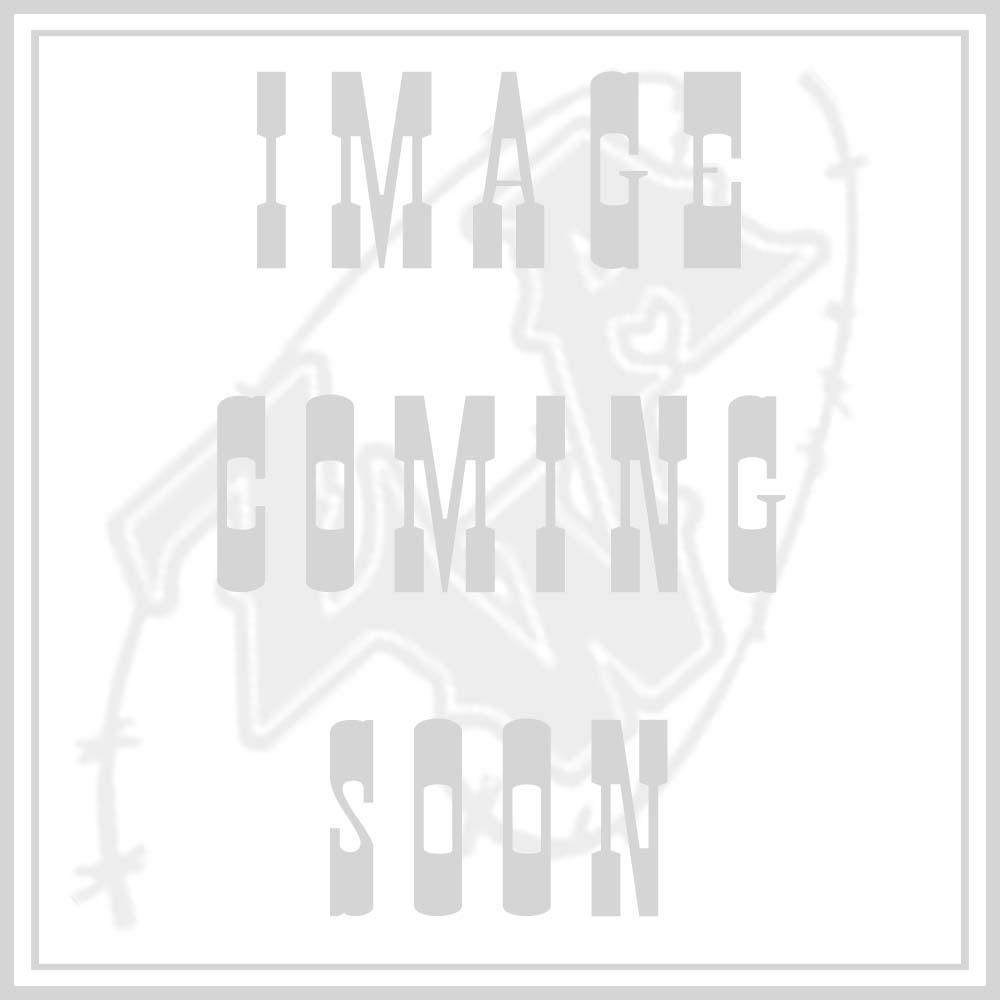 Ariat Women's White Taken Skull Foil w/ Lace Sleeve Casual Knit Shirt